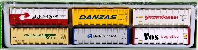 Arnold HN8201 - 6er-Set 30' Bulk-Container