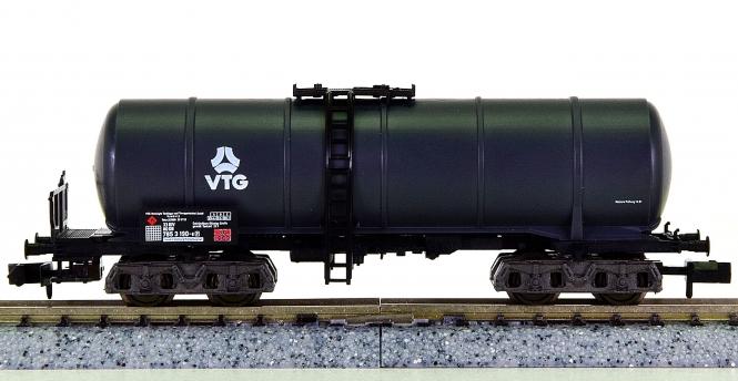 Fleischmann 8486 K (N) – Mineralöl-Kesselwagen der VTG, eing. bei der DB