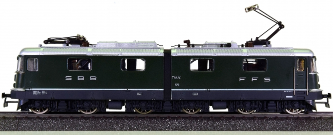 HAG 200 (AC) – Güterzug-Elektrolokomotive Re 6/6 der SBB/CFF/FFS