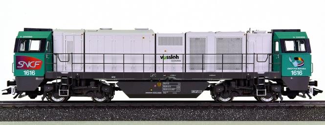 Trix 22922 – Diesellok Vossloh G 2000 BB der SNCF, digital + Sound