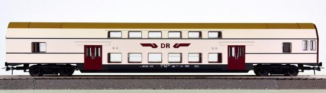 Piko 73019A – Doppelstock-Steuerwagen DBmge 2.Kl. der DR (DDR)