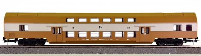 Piko 73019B – Doppelstock-Personenwagen DBmtruee 2.Kl. der DR (DDR)