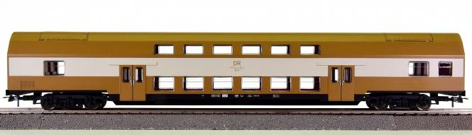 Piko 73020B – Doppelstock-Personenwagen DBmue 2.Kl. der DR (DDR)