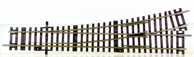 Roco 42440 – Roco-Line, Weiche links Wl15, Abzweigwinkel 15°, Länge 230 mm