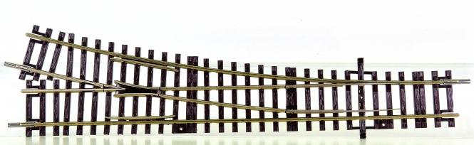 Roco 42441 – Roco-Line, Weiche rechts Wr15, Abzweigwinkel 15°, Länge 230 mm