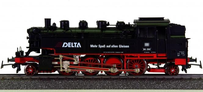 Märklin 3396 – Tenderdampflok BR 86 der DB, digital (Delta), Sondermodell