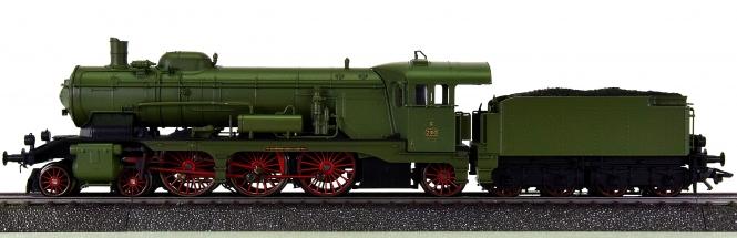 Märklin 37114 – Schlepptender-Dampflok Klasse C der K.W.St.E., digital (MM)