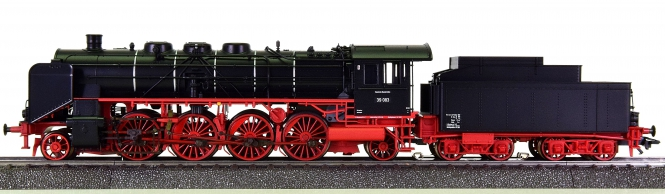 Märklin 39393 – Schlepptender-Dampflok BR 39 der DB, mfx + Sound