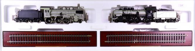 Märklin 00380 – 2-tlg. Lokomotiv-Packung BR 38, Metalltechn.-Edition, digital