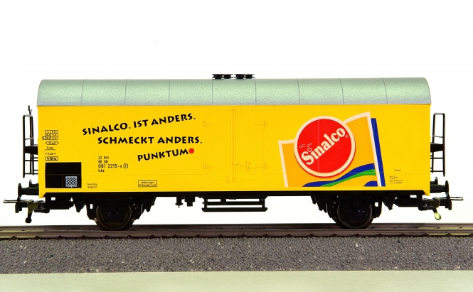Fleischmann 5320 K – Kühlwagen der Sinalco, eingestellt bei der DB