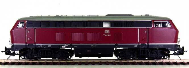Lenz 40160-01 (Spur 0) – Diesellok BR V160 der DB, digital + Sound + Telex