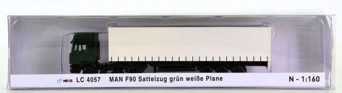 Lemke Minis LC 4057 (N) – Gardinenplanen-Sattelzug MAN F90