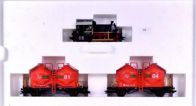 Trix 21334 – Güterzug der Westfälischen Landes-Eisenbahn GmbH (WLE), digital