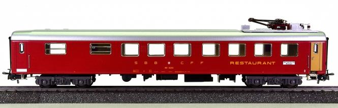 Märklin 40661-04 – RIC-Speisewagen WR der SBB