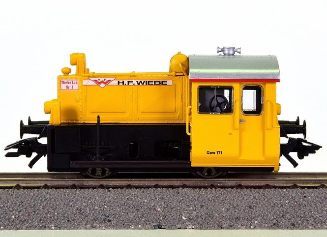 Trix 22126 – Rangier-Diesellok Köf II der Wiebe GmbH, digital (DCC, Sx)