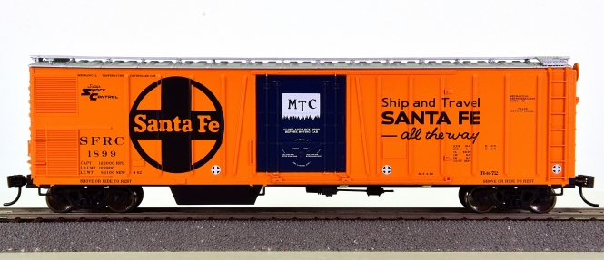 Walthers 910-3752 - 50' AAR Mechanical Refrigerator Car der Santa Fe (SFRC)