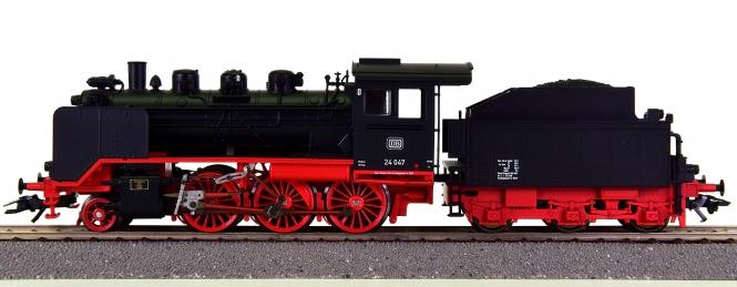 Trix 22248 – Schlepptender-Dampflok BR 24 der DB, digital + Sound