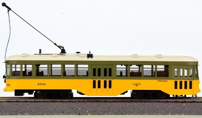 Spectrum 84605 – Peter Witt Streetcar der LA Railway, digital (DCC)