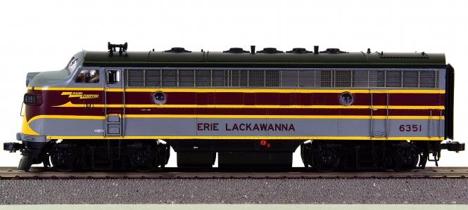MTH 80-2124-1 – Diesellok EMD F-7 der Erie Lackawanna, digital + Sound + Telex