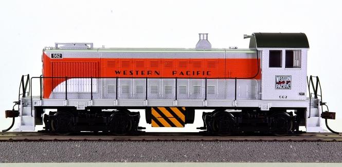 Bachmann 63202 - Diesellok Alco S4 der Western Pacific, digital + Sound