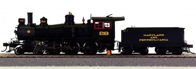 Spectrum 84905 – Tender-Dampflok 4-6-0 der Maryland & Penns., digital + Sound