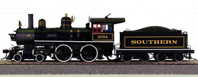 Spectrum 85103 – Tender-Dampflok 4-4-0 Richmond der Southern, digital + Sound
