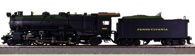 Broadway Limited 336 - Dampflok K4s 4-6-2 der Pennsylvania