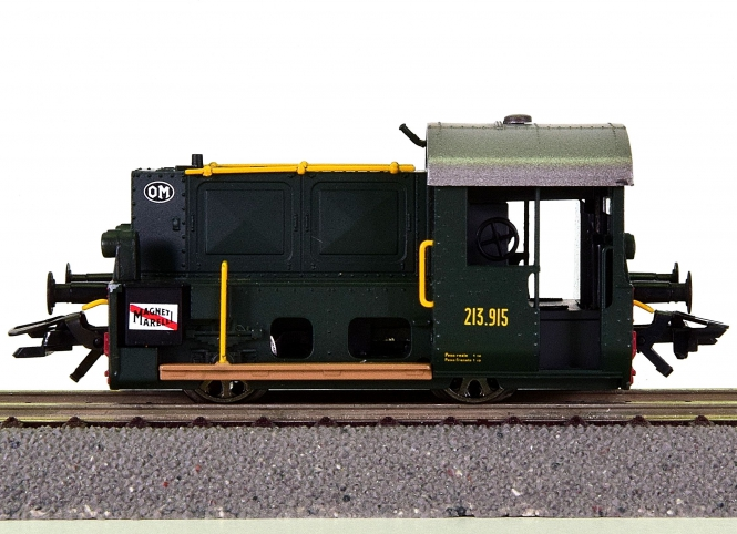 Trix 22314 – Rangier-Diesellok BR 213 (Köf II) der FS, digital (DCC, Sx)
