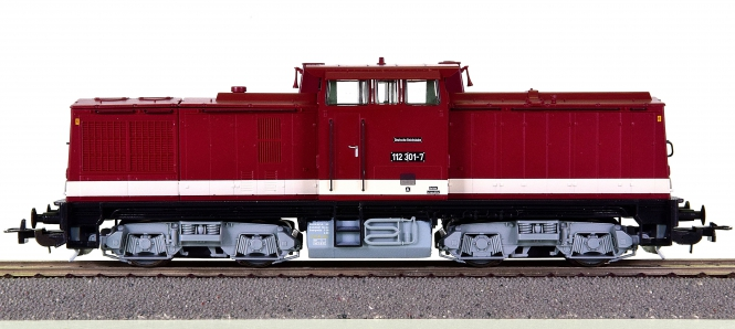 Roco 73759 – Mehrzweck-Diesellok BR 112 der DR (DDR), digital (DCC)