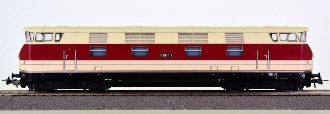 Piko 52572 - Mehrzweck-Diesellok BR V200 der DR (DDR), digital + Sound
