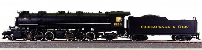 Spectrum 84804 - Dampflok USRA 2-6-6-2 der Chesapeake & Ohio, digital + Sound