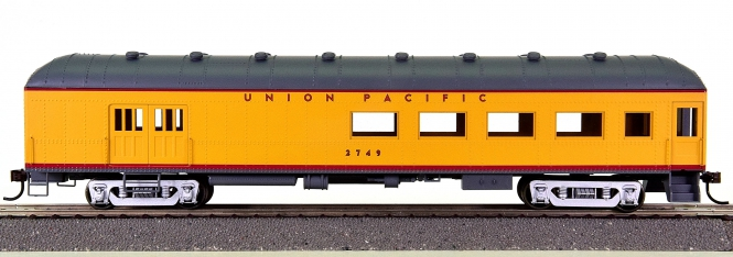Roundhouse 86552 – Arch-Roof Combine Car der Union Pacific (UP)