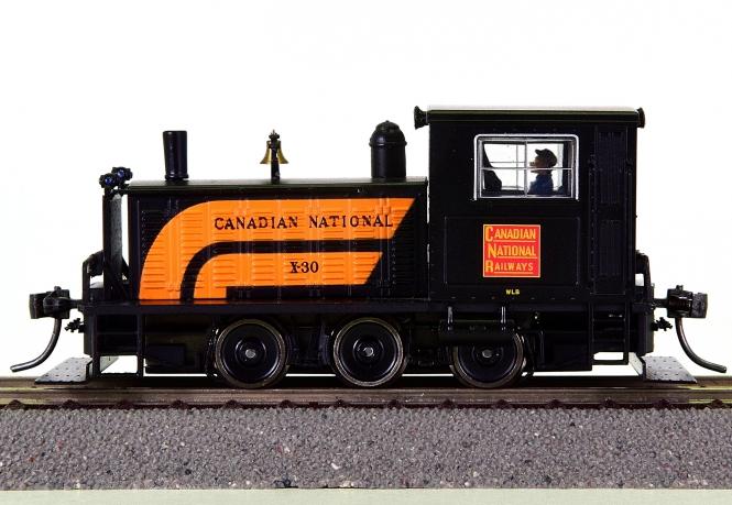 Broadway Limited 6071 - Plymouth Switcher/Rangier-Diesel der CNR, digital