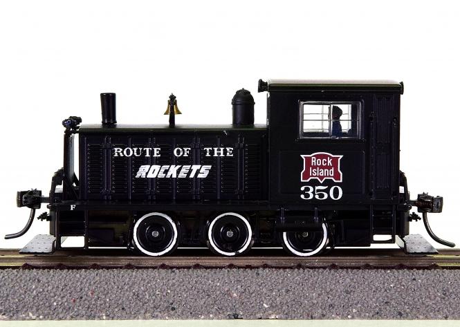 Broadway Limited 6078 - Plymouth Switcher/Rangier-Lok der Rock Island, digital