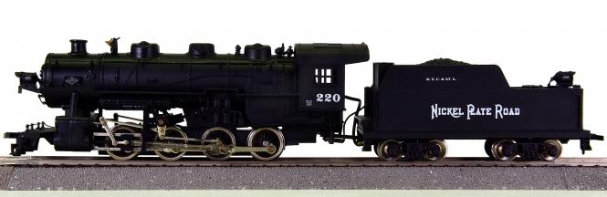 Mantua 380-070 - Dampflok 0-8-0 Switcher der N.Y.C. & St.L., mit Rauchsatz
