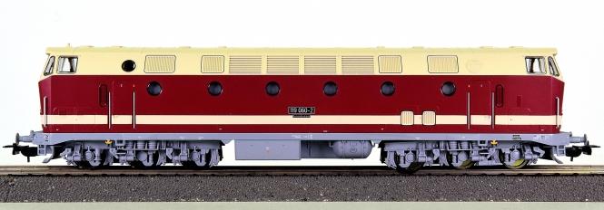Piko 57136 – Mehrzweck-Diesellok BR 119 der DR (DDR), digital