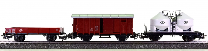 Märklin 4503/4605/4762 - 3-teiliges interationales Güterwagen-Set