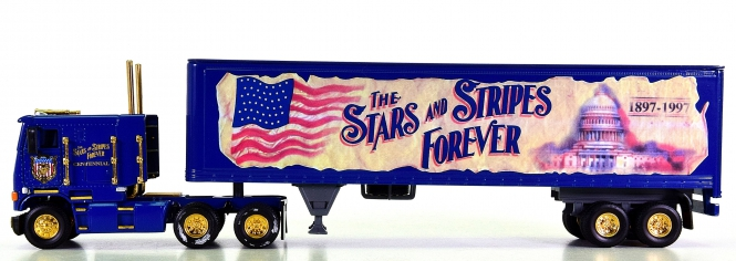 Matchbox KS191SA-M 1:58 - Lim. Edition 100th Anniversary Stars & Stripes Truck