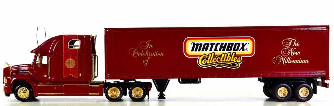 Matchbox DYM37796 1:58 - Limited Edition Millenium Tractor Trailer