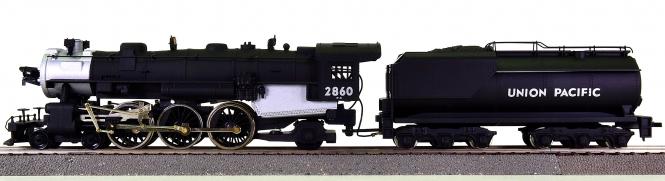 Mantua 349-503 - Dampflok 4-6-2 Pacific der Union Pacific, mit Rauchsatz