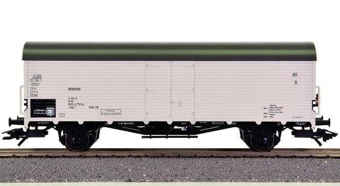 Trix 24035 - Kühlwagen lbdlps 383 der DB, Zugschlussbeleuchtung