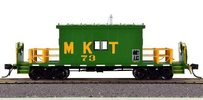 Bluford Shops 34200 – Transfer Caboose der Missouri-Kansas-Texas (MKT)