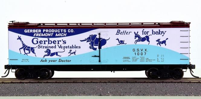 MTH 80-90025C – R40-2 Reefer Car der Gerber Products