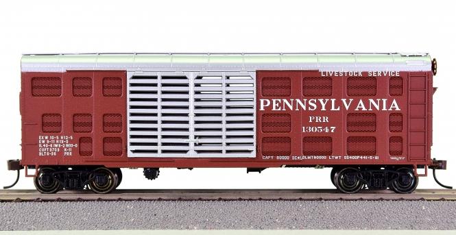 Bowser K11 – 40' Stock Car der Pennsylvania Railroad (PRR)