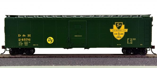 Bowser 41548 – 50' 2 Door Boxcar der Delaware & Hudson (D&H)