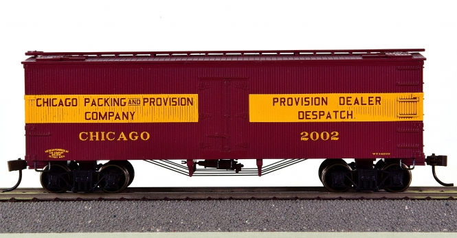 Roundhouse 84137 – 36' Wood Reefer der Chicago Packing & Provision