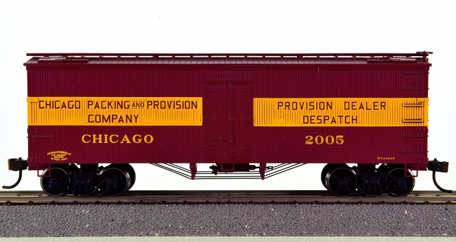 Roundhouse 84138 – 36' Wood Reefer der Chicago Packing & Provision