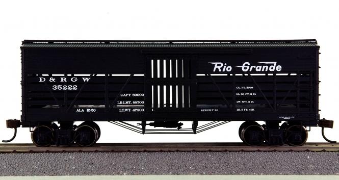 Roundhouse 84210 – 36' Stock Car der Rio Grande (D&RGW)