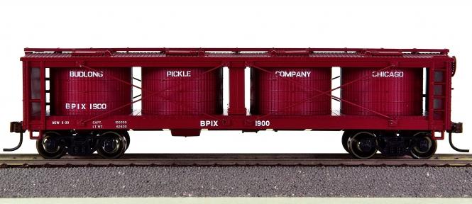 Roundhouse 85266 – 40' Pickle Car der Budlong Pickle (BPIX)