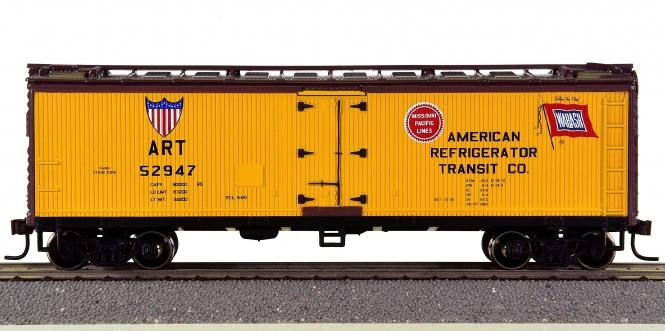 Roundhouse 85401 – 40' Wood Reefer der American Refrigerator Transit